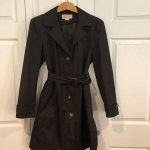 Michael Kors brown ladies trench coat